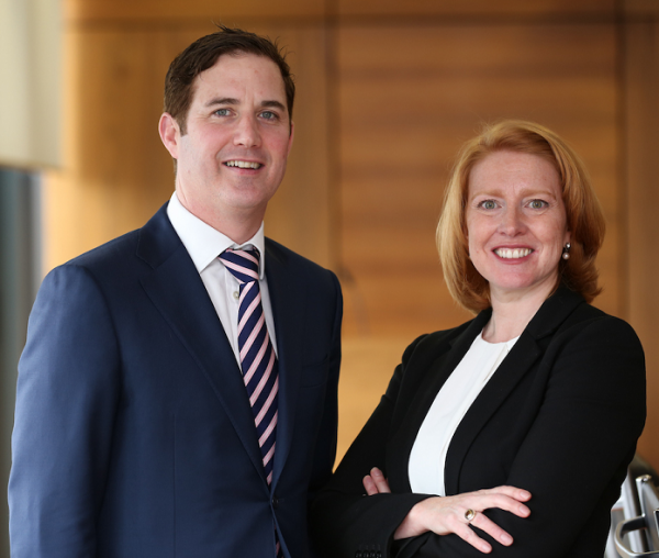 Ronan Colleran and Caroline Bruno - Partners in AES International Executive Search
