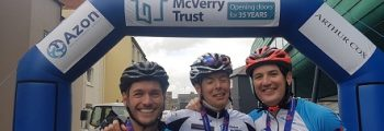 Azon Sponsor the Peter McVerry Trust Cycle