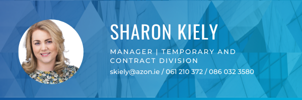 Sharon Kiely Azon Recruitment contact details