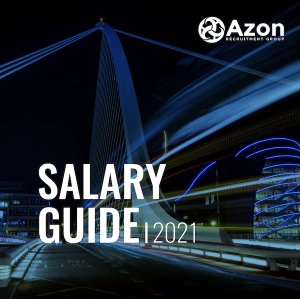 Azon Salary Guide 2021 front cover